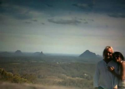 Glasshouse Mountain Views by Paula Cook