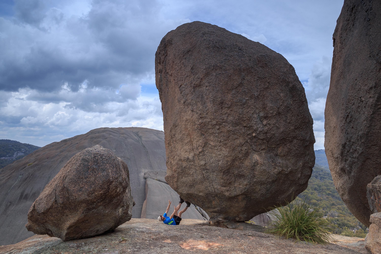 Rock, Girraween by Steffen Bollman