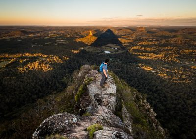 Beerwah Mountain Shadow by Lachlan Gardiner