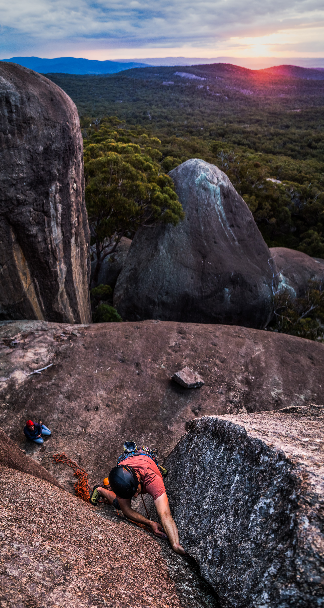 Last Climb of the Day by Lachlan Gardiner
