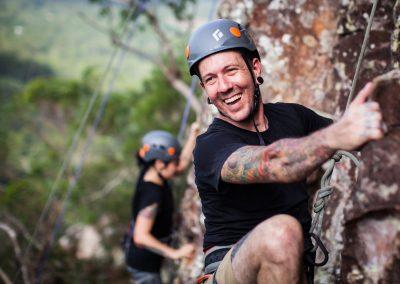 Climbing Face by Adam Sebastian West
