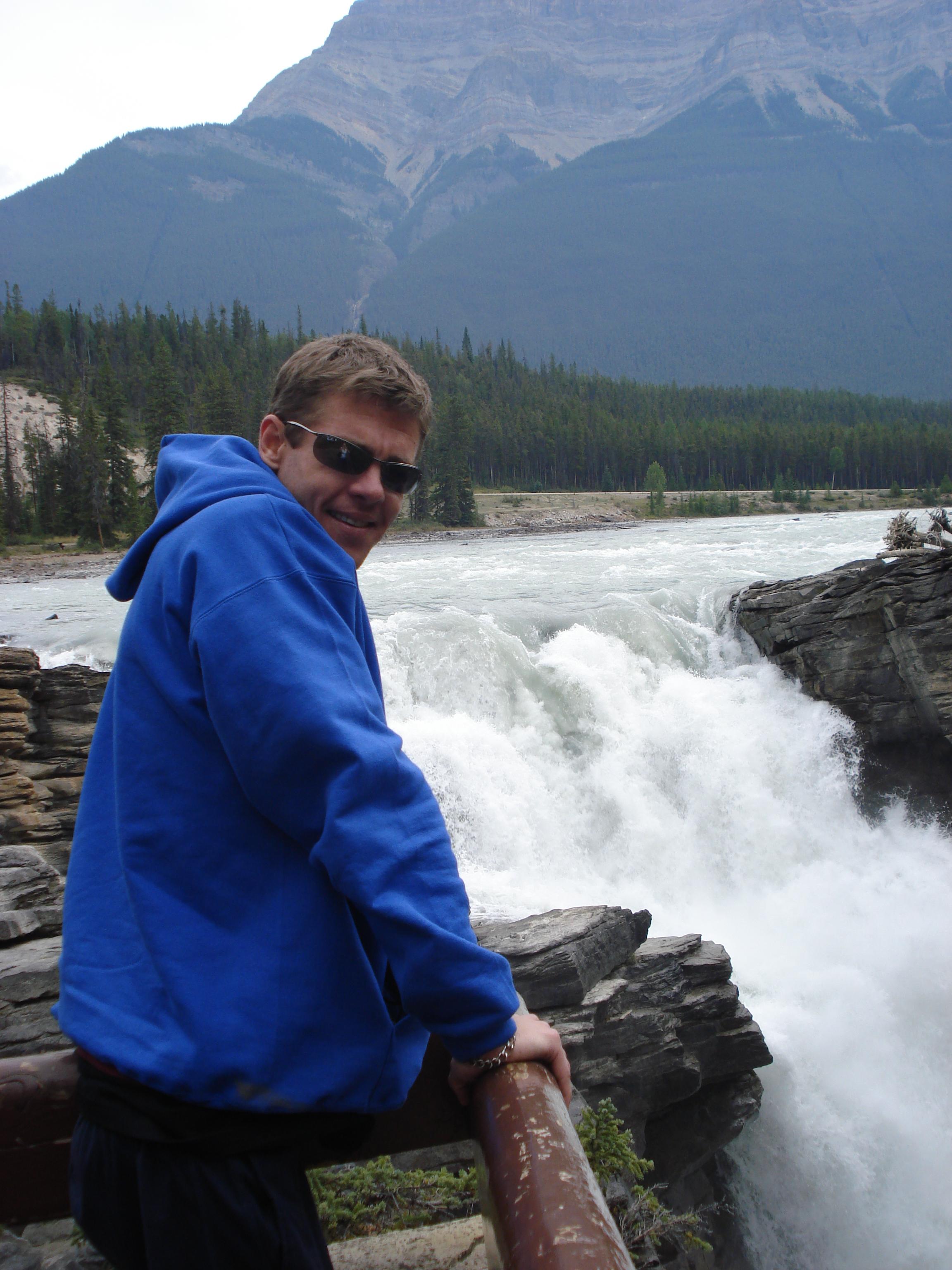 Athabasca Falls by Ben Noonan