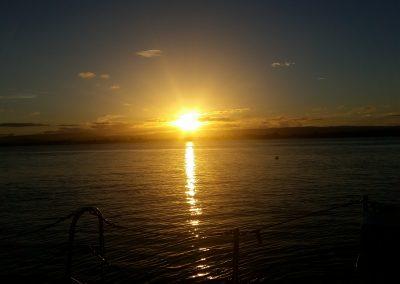 Sailing Sunset by Ben Noonan