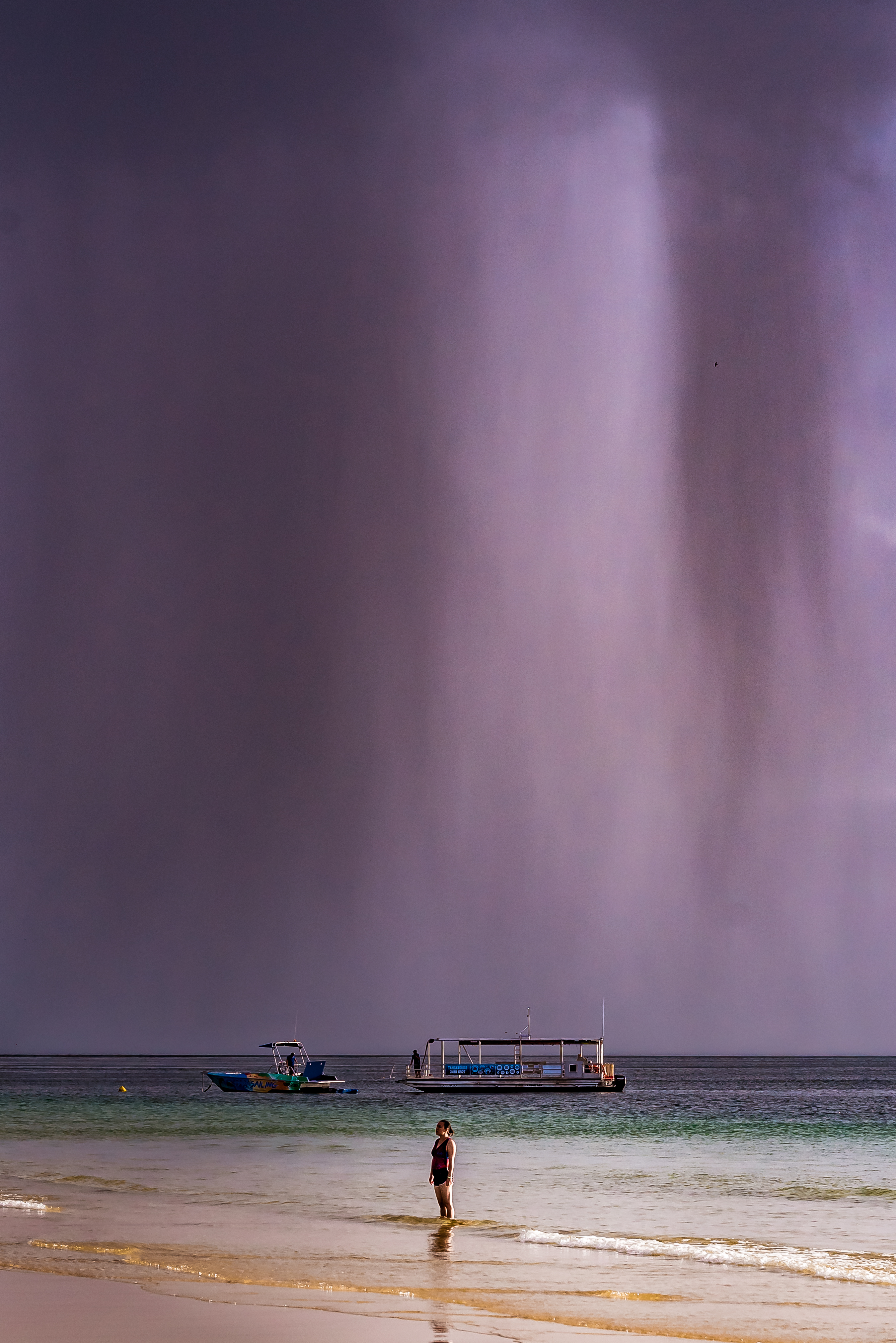 Afternoon Shower on the Beach by Joep Buijs