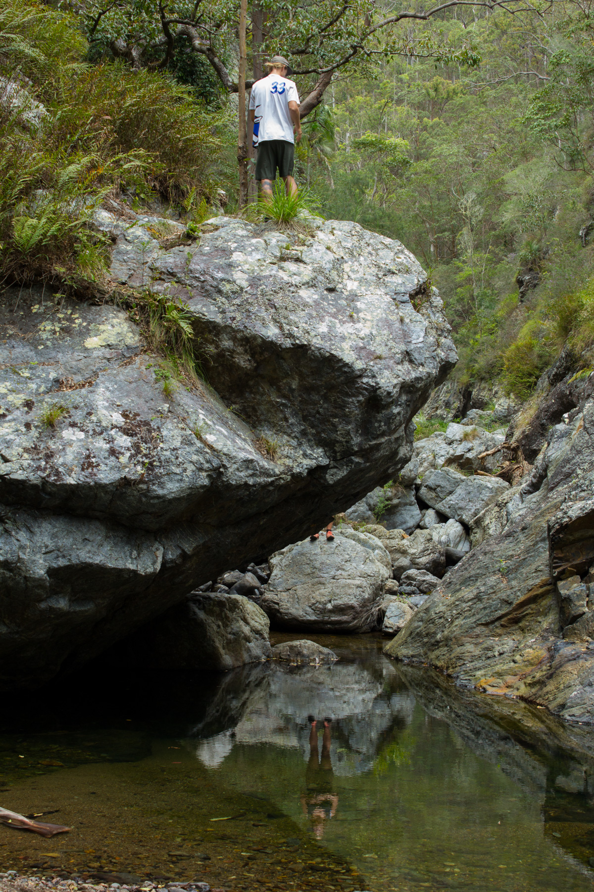 Northbrook Gorge Reflections by Catherine Droste