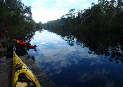 Noosa River Awaits by Janet Lindsay