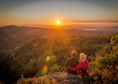 Mt Kaputar Sunrise by Steffan Bollmann