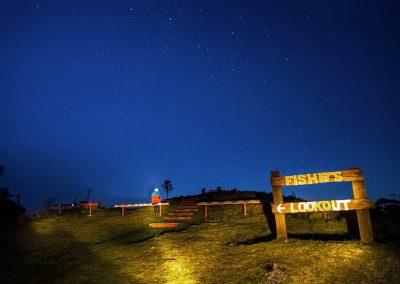 Winter Blue Stars by Ellen Foulds