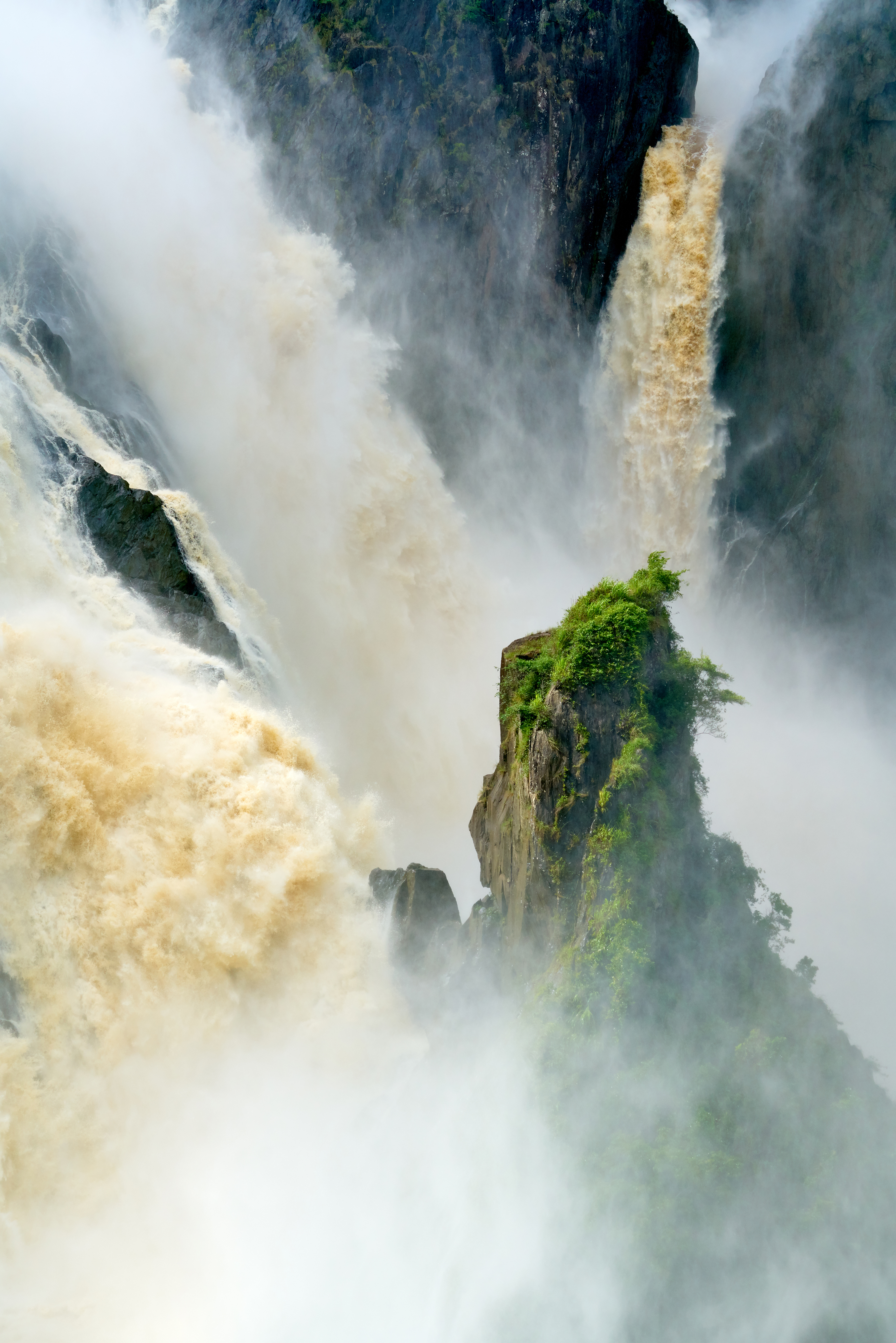 Barron Falls Flood by James Kaczmarek