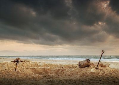 Beach Bunker by Luke Miller
