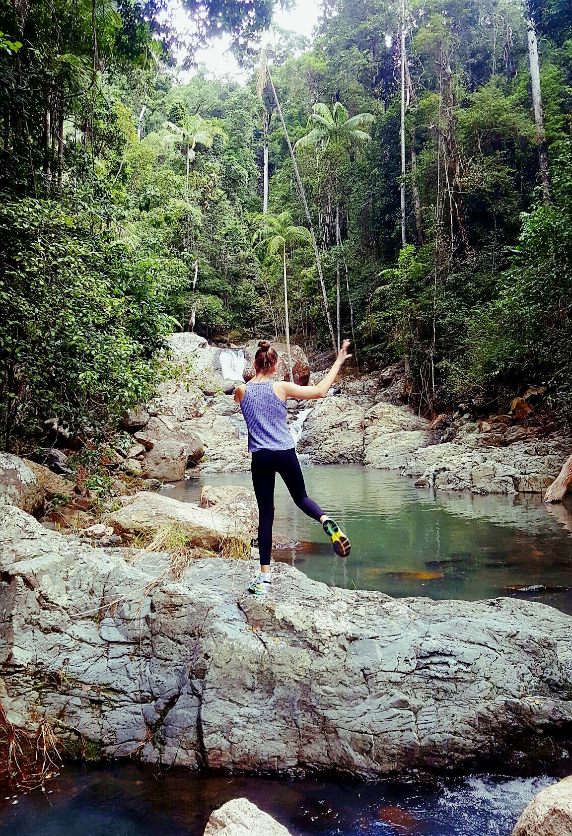 Hiking Guanaba Creek by Jim Noort