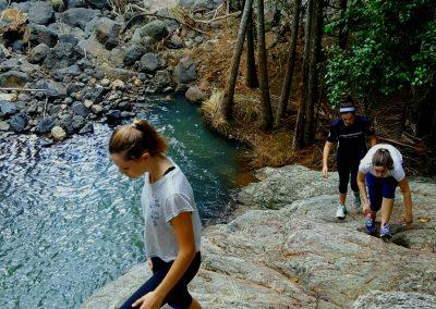 Guanaba Creek Hiking by Jim Noort