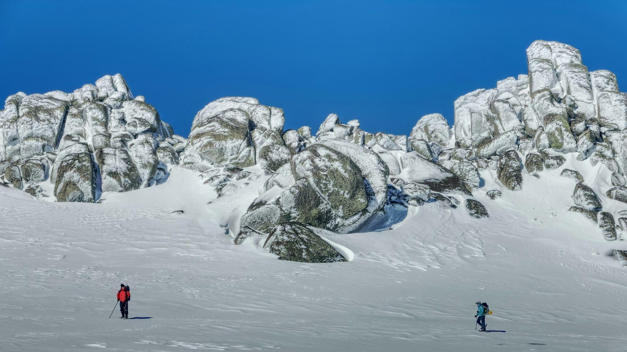 Winter on the Main Range by Michael Grimwade