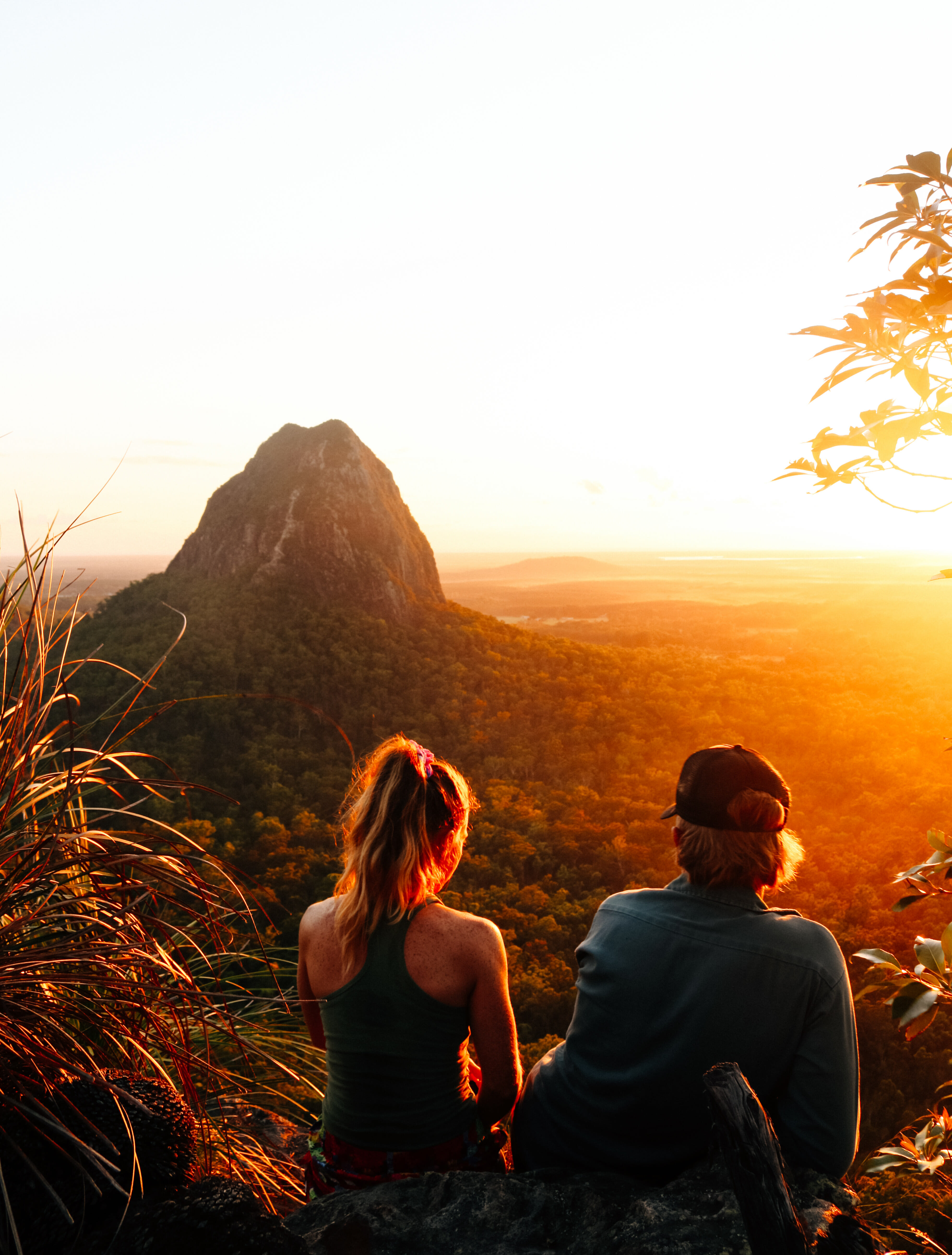 Glass House Mountains by Scout Hinchcliffe