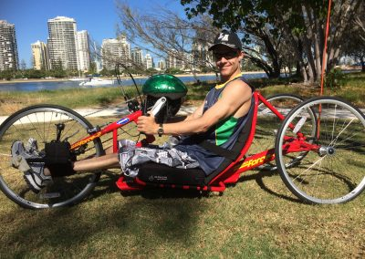 Handcycle by Louise Cousens