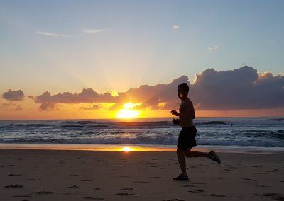 Sunrise Run by Jim Noort