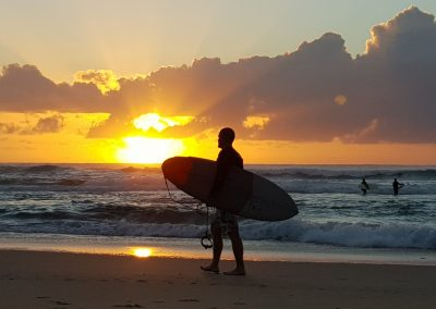 Sunrise Surf by Jim Noort