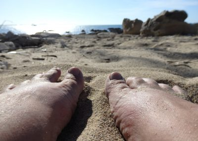 Relaxing at the Beach by Rachel Kneubuhler
