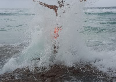 Straddie Super Splash by Annette Kachel