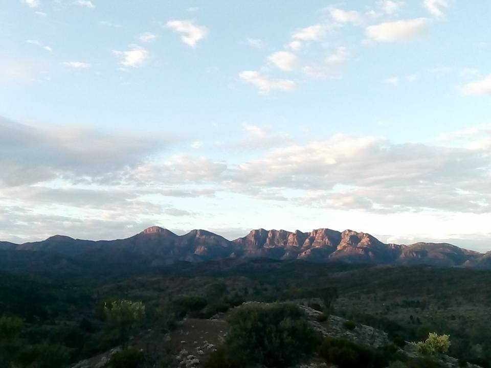 Sunrises over Wilpena by Aaron Simson-Woods
