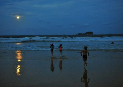 Full Moon, Mudjimba by Christian Botella