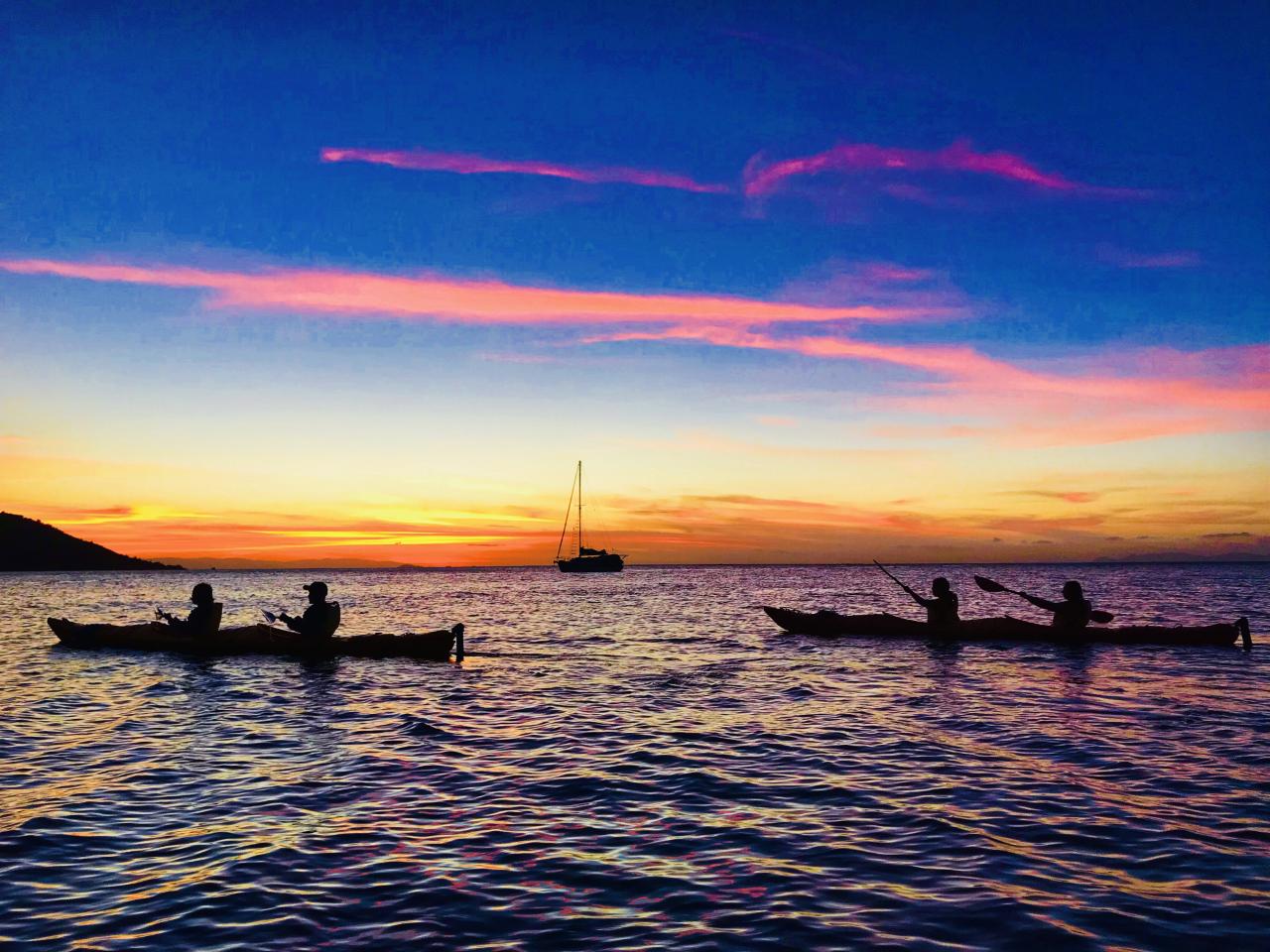 Sunset Silhouette by Craig Chrichton