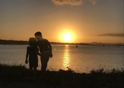 Yamba Sunset by Michelle Ealson