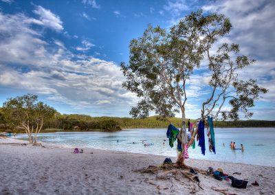 Sarah_Haskmann_Lake-McKenzie-Arvo-Swim-Fraser-Island