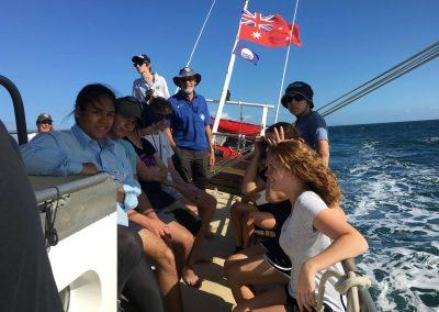 South Passage_Sailing off Moreton Island